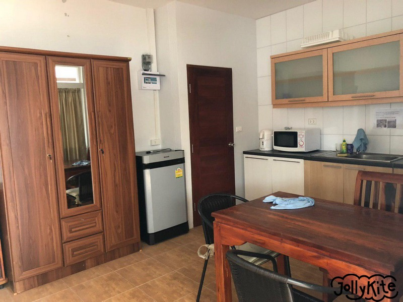 Kitchen in a studio apartment for rent, Pak Nam Pran, Thailand photo