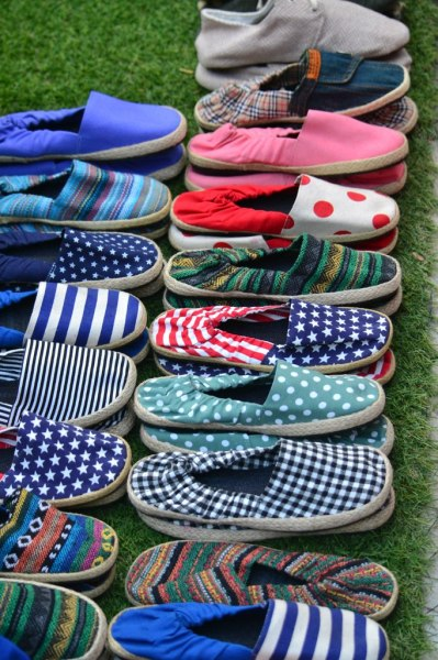 Picture of slippers