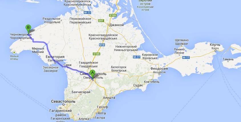 Путь Керчь-Межводное