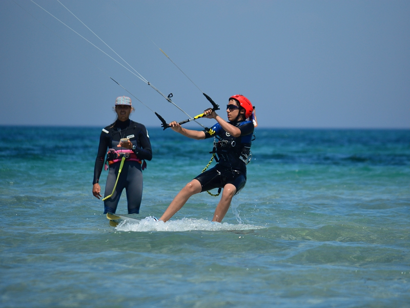 Promotional deals and discounts for kitesurfing courses