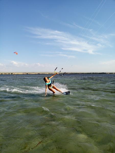 Где в Крыму научиться кататься на кайте?