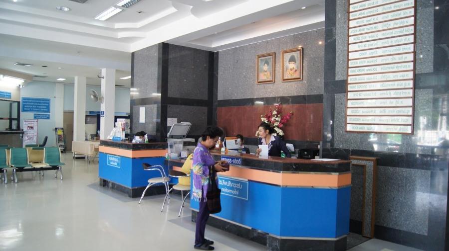 Бангкок ГОспиталь в Хуа-хин Таиланд фото