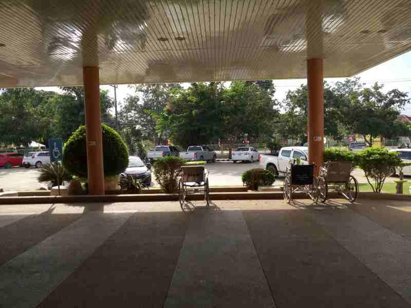 Вид из больницы в Пранбури фото