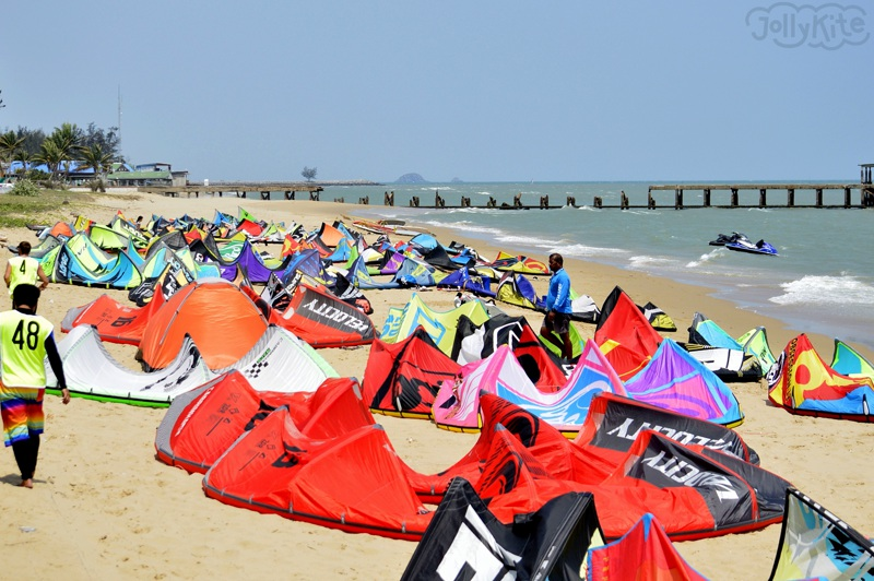 kitesurf competition KTA Thailand