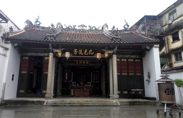 Китайский Храм Пенанг фото