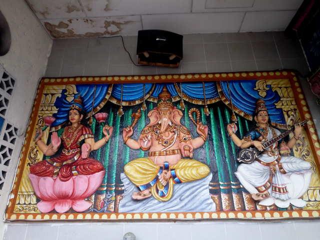 На пенанге индийская роспись фото