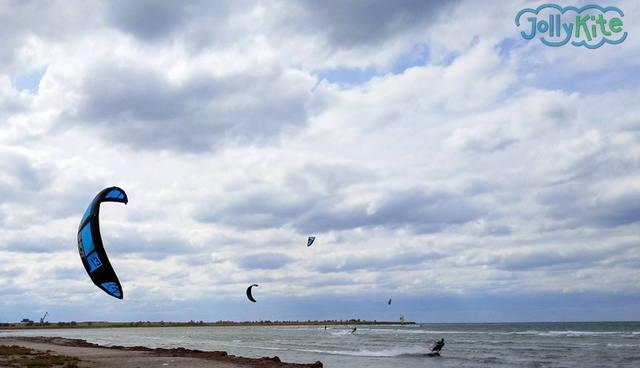 Слингшот Турбина 2017 отлично летит на ветер фото