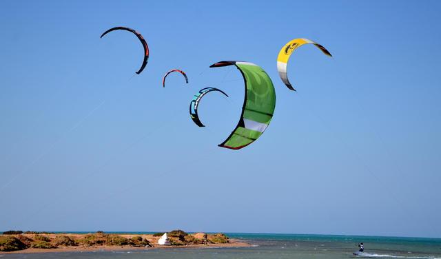 Финал Wkl Elguna kites foto