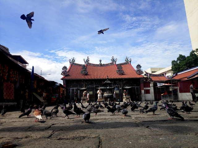Храм на Пенанге фото