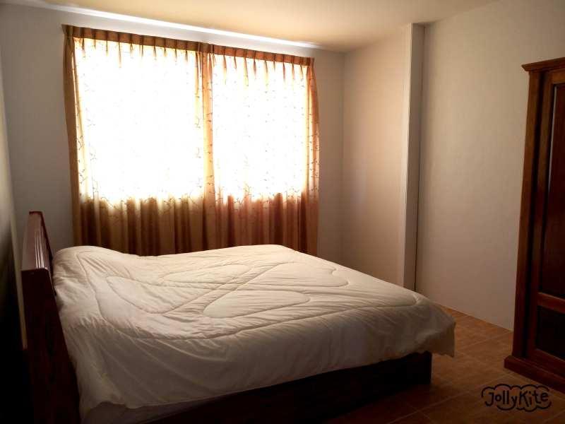 Спальня в Аппартаментах в Таиланде Пак нам Пран фото