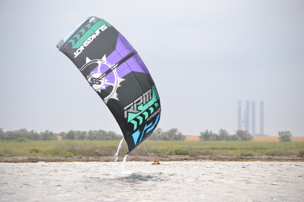 Кайт RPM хорошо взлетает с воды