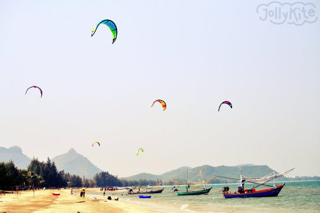 Ссом рой йод - Долфин кайт спот бей фото/Sam Roi Yod - Dolphin bay kite spot foto