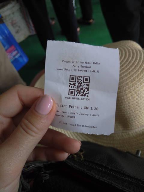 Билет на паром до Пенанга Малайзия фото