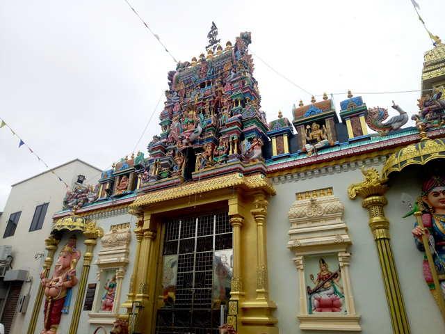 Индийский храм Малайзия Пенанг фото